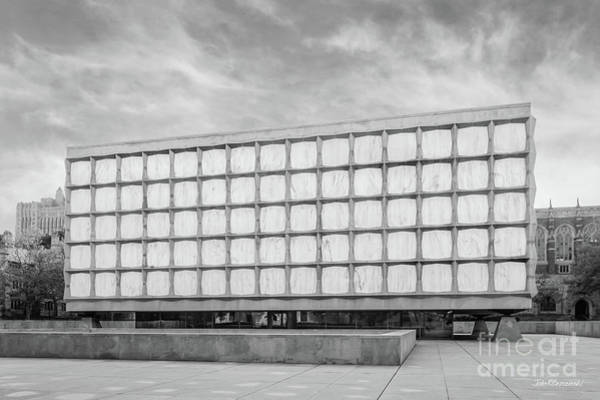 Photograph - Yale University Beinecke Library by University Icons