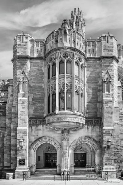Photograph - Yale University Sterling Law Building by University Icons