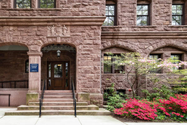 Photograph - Yale University Warner House by Susan Candelario