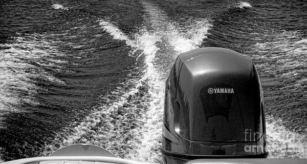Photograph - Yamaha Power by Olivier Le Queinec