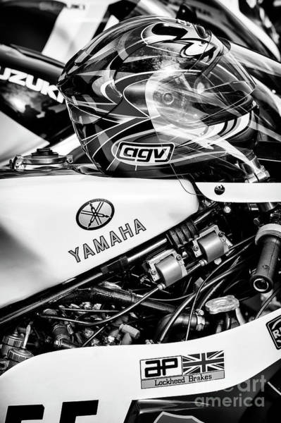 Wall Art - Photograph - Yamaha Racing by Tim Gainey