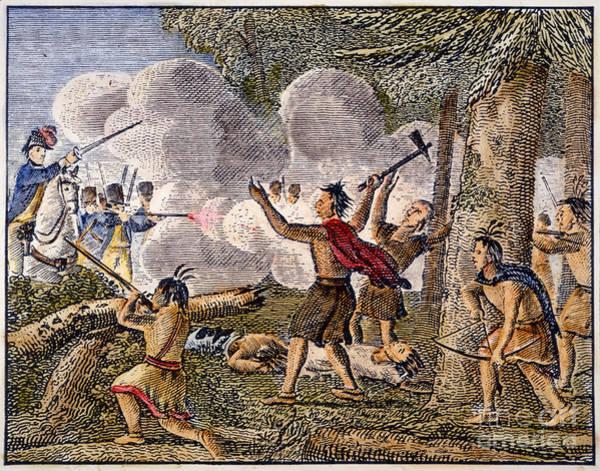 Gunfire Photograph - Yamasee War, 1715 by Granger
