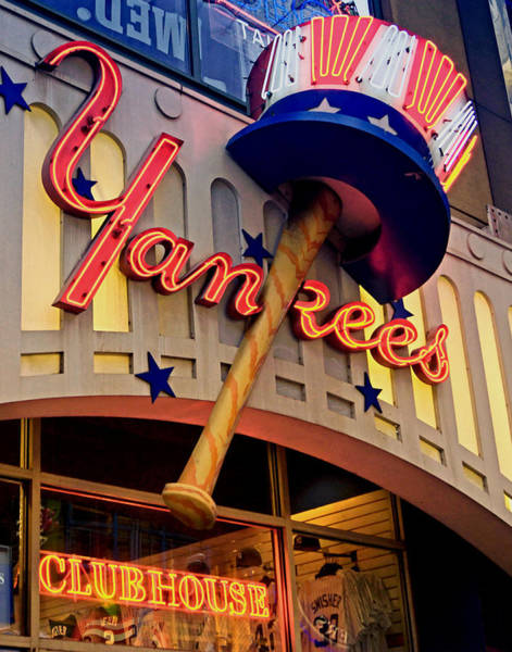 Photograph - Yankee Clubhouse by Joann Vitali