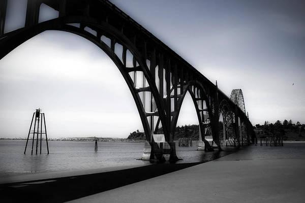 Photograph - Yaquina Bay Bridge by Lee Santa