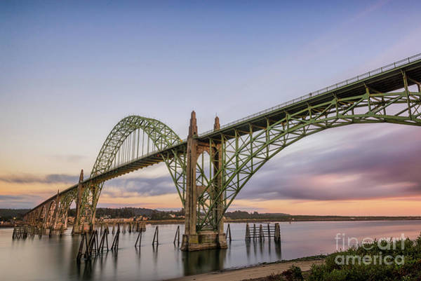 Photograph - Yaquina Bay Bridge by Paul Quinn