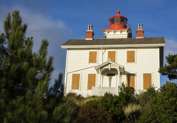 Photograph - Yaquina Bay Lighthouse by Robert Potts
