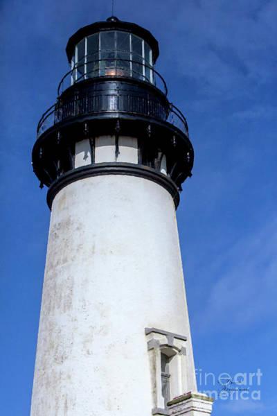 Oregon Coast Mixed Media - Yaquina Head by David Millenheft
