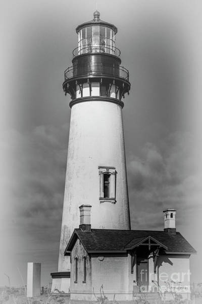 Photograph - Yaquina Head Light by David Millenheft