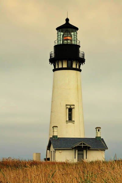 Wall Art - Photograph - Yaquina Head Lighthouse - Newport Or by Christine Till