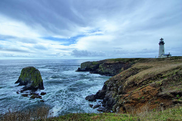 Photograph - Yaquina Head Lighthouse 2 by Jedediah Hohf