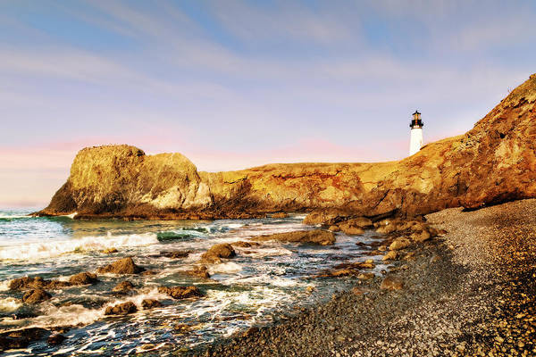 Photograph - Yaquina Head's Lighthouse, Oregon  by Kay Brewer