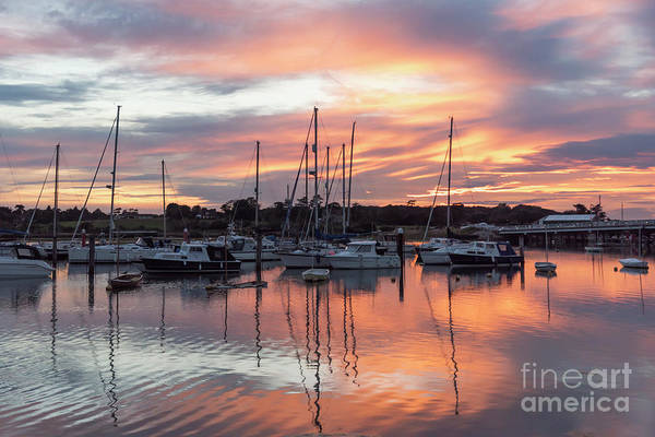 Photograph - Yarmouth Harbour Sunset by Clayton Bastiani