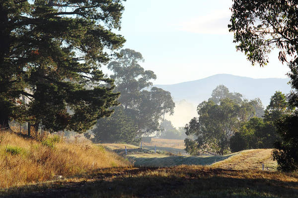 Photograph - Yarra Glen On A Beautiful Autumn Morning No1 29-03-2015 by Bert Ernie