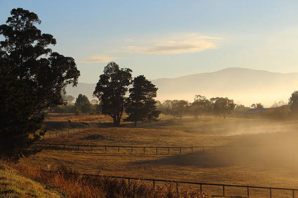 Photograph - Yarra Glen On A Beautiful Autumn Morning No3 29-03-2015 by Bert Ernie