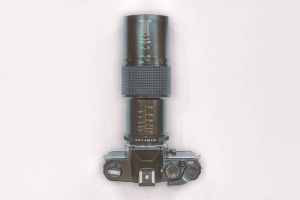 Camera Wall Art - Photograph - Yashica Fx-3 With 90mm Lens by Scott Norris