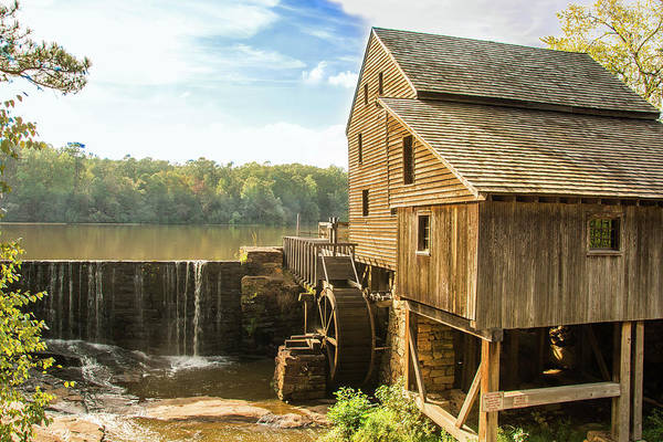 Wall Art - Photograph - Yates Grist Mill by Linda Eszenyi