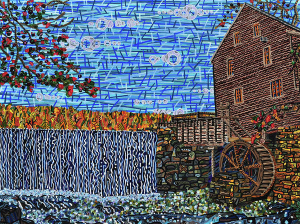 Wall Art - Painting - Yates Mill 3 by Micah Mullen
