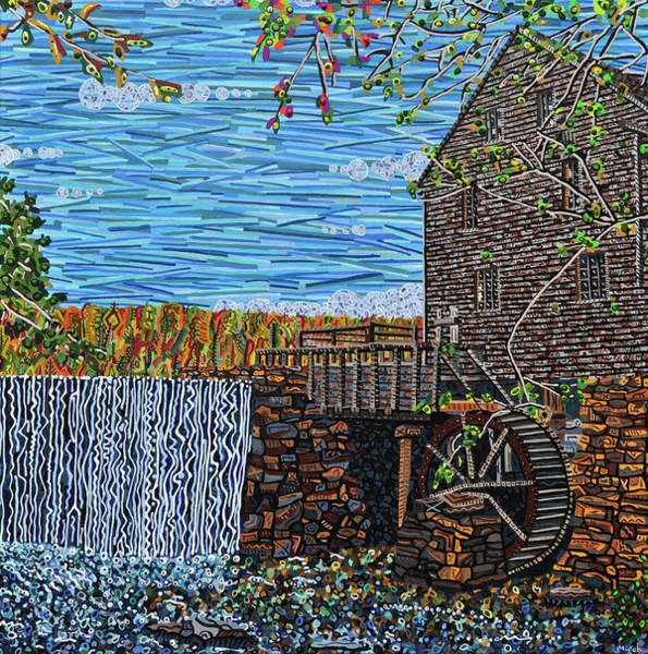 Wall Art - Painting - Yates Mill by Micah Mullen