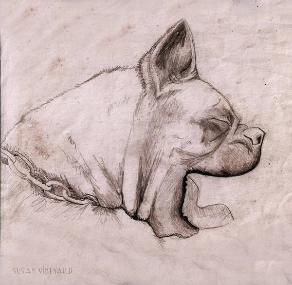 Digital Art - Yawn by Susan Vineyard