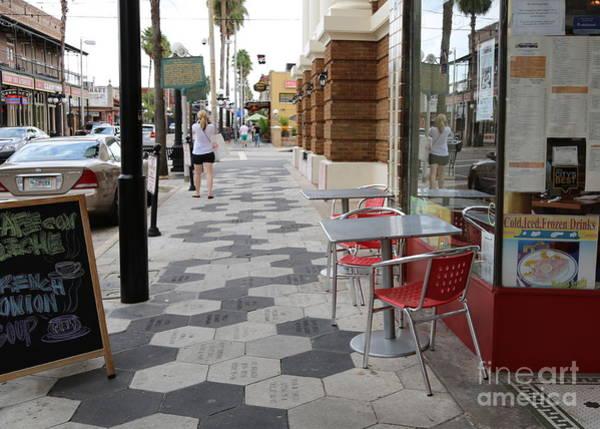 Photograph - Ybor City Sidewalk by Carol Groenen