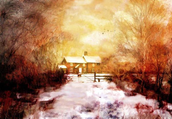Ye Olde Inn Art Print