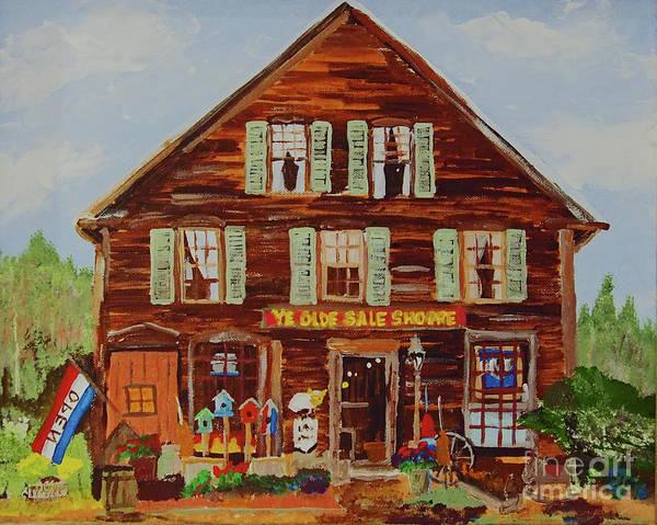 Painting - Ye Olde Sale Shoppe by Francois Lamothe