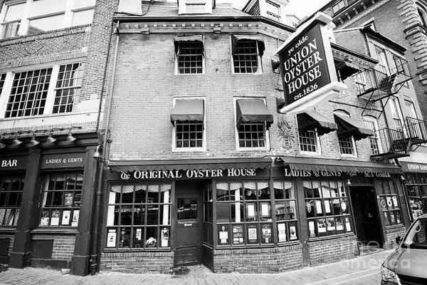 Wall Art - Photograph - ye olde union oyster house original Boston USA by Joe Fox