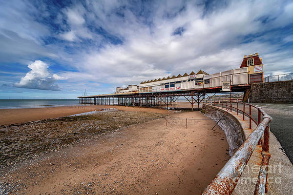 Photograph - Ye Olde Victoria Pier by Adrian Evans