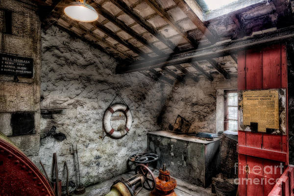 Rotten Wall Art - Photograph - Ye Olde Workshop by Adrian Evans