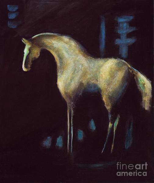 Painting - Year Of The Horse by Frances Marino