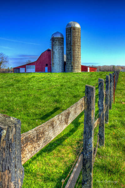 Photograph - Years Gone By Tennessee Farm Art by Reid Callaway