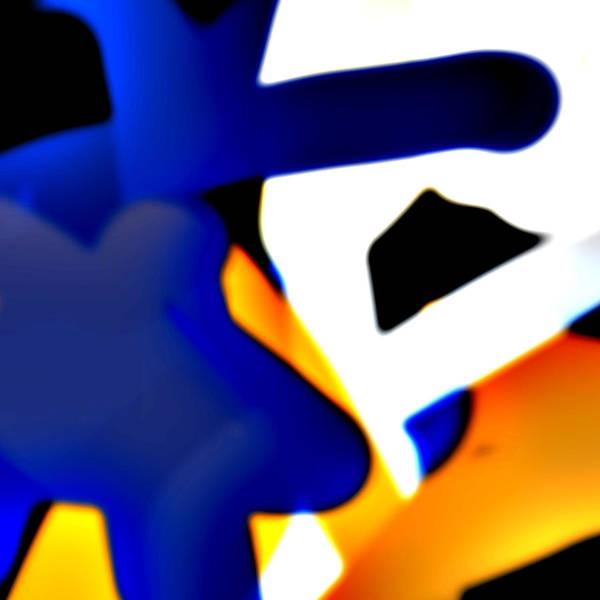 Phantasy Digital Art - Yelling by Ulrike Gartler