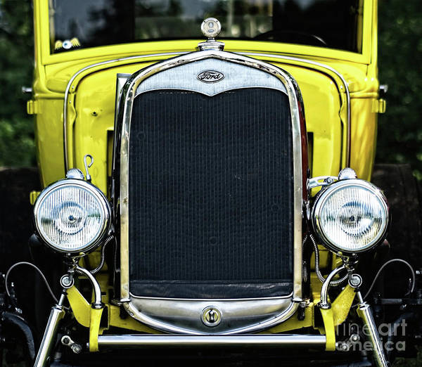 Photograph - Yellow And Chrome by Mark Miller