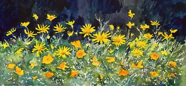 Yellow And Orange Art Print