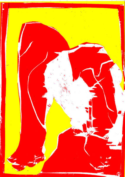 Digital Art - Yellow And Red Series - Birth by Artist Dot
