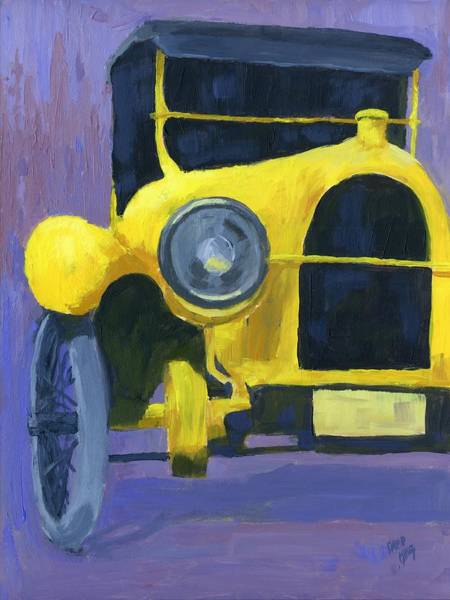 Painting - Yellow Antique by David King