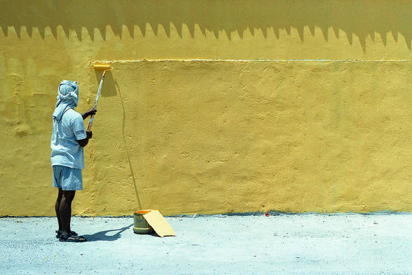 Wall Art - Photograph - Yellow by Bong Manayon
