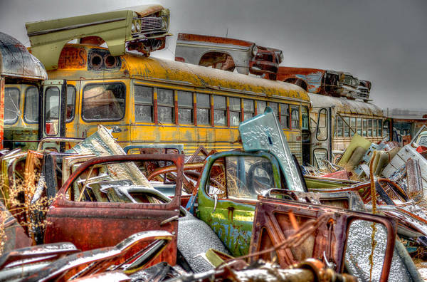 Photograph - Yellow Bus by Craig Incardone