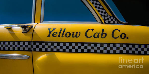 Photograph - Yellow Cab Co. by Hannes Cmarits