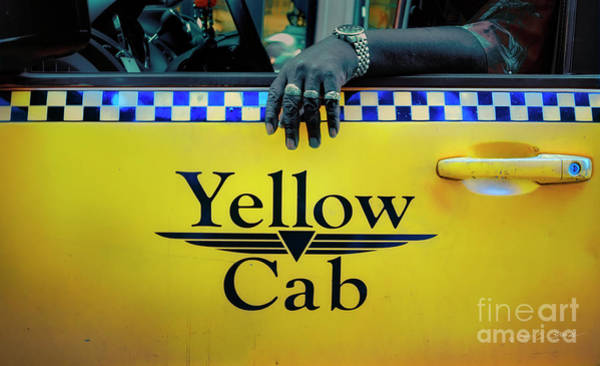 Photograph - Yellow Cab by Craig J Satterlee