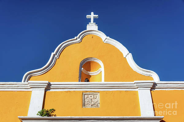 Campeche Photograph - Yellow Colonial Architecture by Jess Kraft