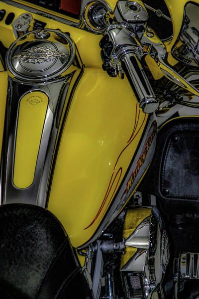 Photograph - Yellow Custom 7031 H_2 by Steven Ward