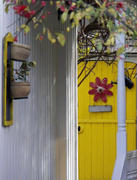 Photograph - Yellow Door by Jennifer Robin