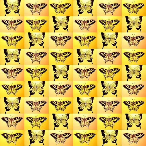 Orange Butterfly Digital Art - Yellow Fantasy by Cathy Jacobs