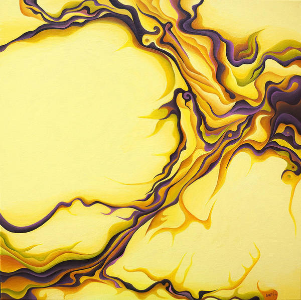 Painting - Yellow Flow by Amy Ferrari