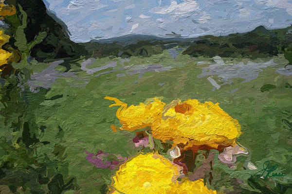Painting - Yellow Flowers by Joan Reese