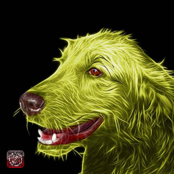 Painting - Yellow Golden Retriever Dog Art- 5421 - Bb by James Ahn