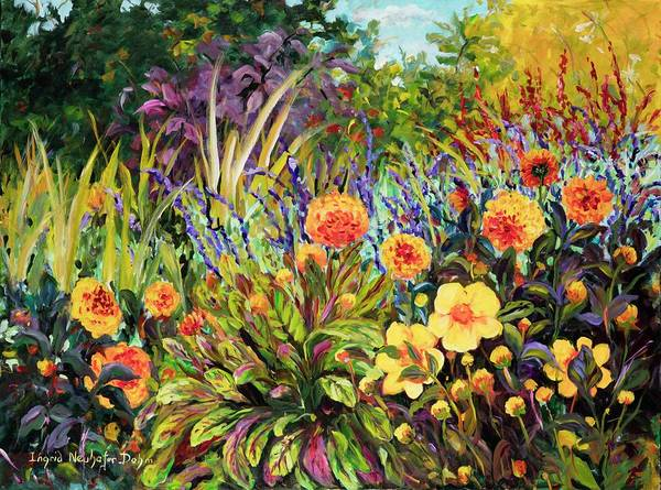 Painting - Yellow Green by Ingrid Dohm