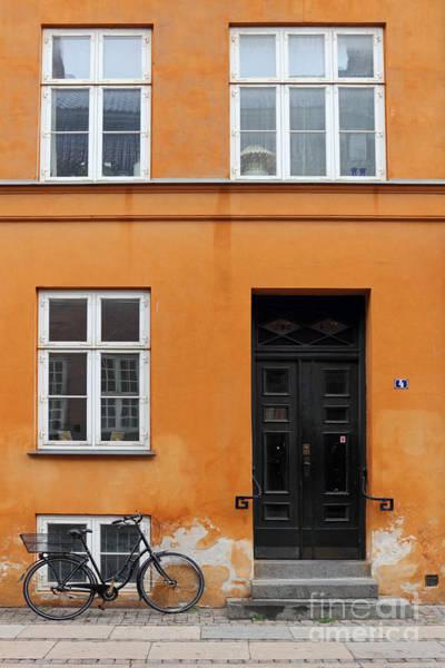The Orange House Copenhagen Denmark Art Print