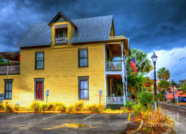 Wall Art - Photograph - Yellow House by Debbi Granruth